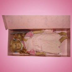 """Vintage 1987 Annette Himstedt Barefoot Children Doll 26"""" Lisa MIB"""