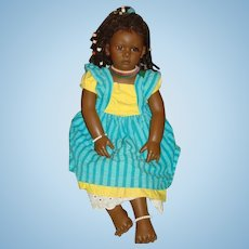 Ayoka by Annette Himstedt - African Ltd Edition Doll - 1989 - Boxed + COA
