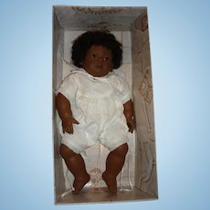 Adorable Annette Himstedt Barefoot Baby Mo Puppen Kinder 1990/91 w Box & COA
