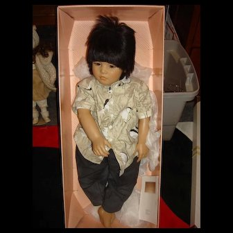 MIB World Child Collection 1988 By Annette Himstedt - Makimura Doll 1147
