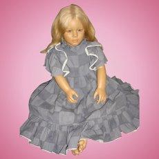 "Vintage 1988 Annette Himstedt World Child Doll 30"" MALIN, COA Original Boxes"