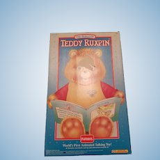 NRFB Small Talking Teddy Ruxpin