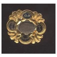 22k Georgian Memorial Pin