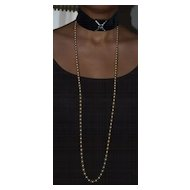 The Highest Quality Faux Pearl Necklace 56 inches!