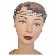 Art Deco Flapper Paste Bandeau