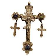 Spanish Colonial Large Cross 1750