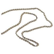 1920's Flapper Paste Long Chain