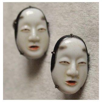 Japanese Toshikane Maiden Earrings