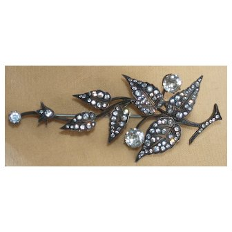 Magnificent Knoll and Pregizer Paste Sterling Spray Pin