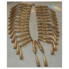 Huge Chinese Bib Necklace