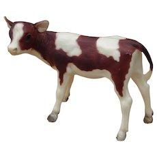 Early 1970s Breyer Model Ayrshire Calf