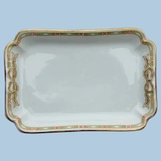New York Central Railroad Vanderbilt China Bow Platter