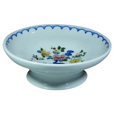 "Superb Milwaukee Railroad China ""Peacock"" Pedestal Compote"