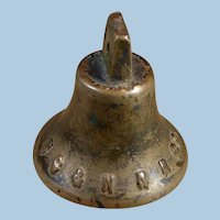 Antique Brooklyn City & Newtown Railroad Company 1800s Horsecar Bell