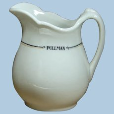 Lovely Pullman Railroad China Milk Pitcher
