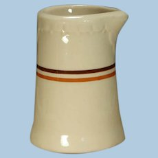 Bangor & Aroostook Railroad China Creamer or Small Syrup Pitcher