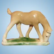 Authentic 1950s First Edition WADE China Horse Colt Figurine England Whimsy Whimsie