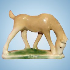 Authentic 1950s EARLIEST First Edition WADE China Horse Colt Figurine England Whimsy Whimsie