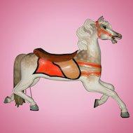 Antique Scarce c. 1900 Antique C. W. Parker Abilene Full Size Carousel Horse Jumper - PRICE NEGOTIABLE
