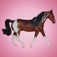 Vintage Scarce Breyer Model Horse Missouri Fox Trotter 2005 Traditional Bay Pinto