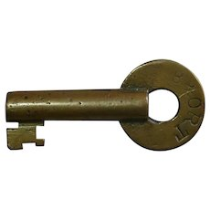 Baltimore & Ohio Railroad Brass Repair Track Key B&ORT