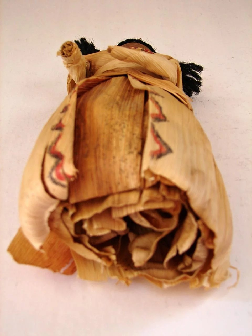 Vintage Native American Corn Husk Cornhusk Indian Doll