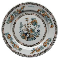 Vintage Pullman Railroad China Indian Tree Luncheon or Cake Plate