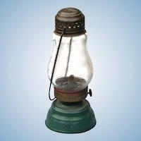 Antique Jewel Brass and Tin Skater's Lantern