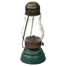 Antique Jewel Brass and Tin Skater's Lantern