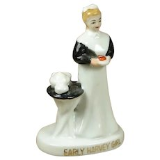 Vintage Fred Harvey Girl China Waitress Figurine - SEVERAL AVAILABLE