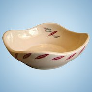 "Western Pacific Railroad Large ""Feather River"" China Salad Bowl"