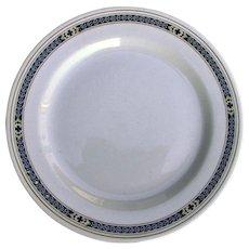 Vintage Pennsylvania Railroad China Purple Laurel Dinner Plate PRR