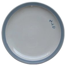 New York Central Railroad China Pacemaker Dinner Plate NYCRR