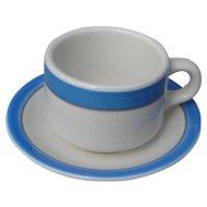 Vintage Railroad China: Amtrak Restaurantware Cup and Saucer Set