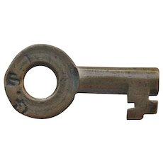 Vintage Grand Trunk Railroad Brass Switch Key GTR Railway