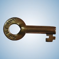 H&BTMRR Railroad Brass Switch Key by Fraim Huntington & Broad Top Mountain