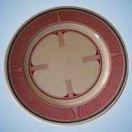 Vintage Santa Fe Railroad China Mimbreno Large Dinner Plate AT&SFRR