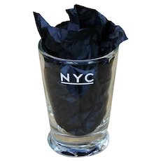 Vintage New York Central Railroad Juice Glass