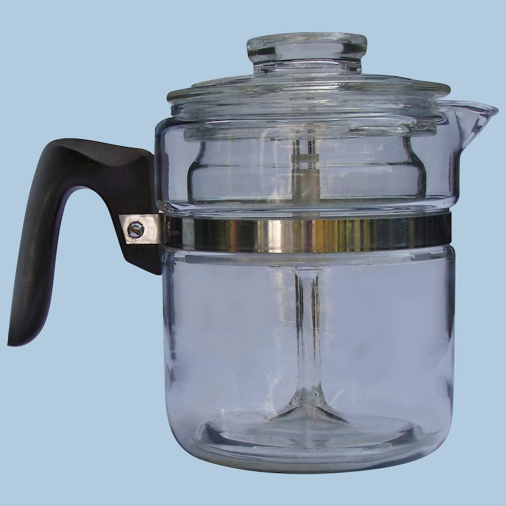 Flameware 4 Cup Gl Percolator Coffee