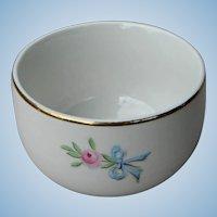 Vintage Hall China Wildfire Custard Cup Pristine Condition