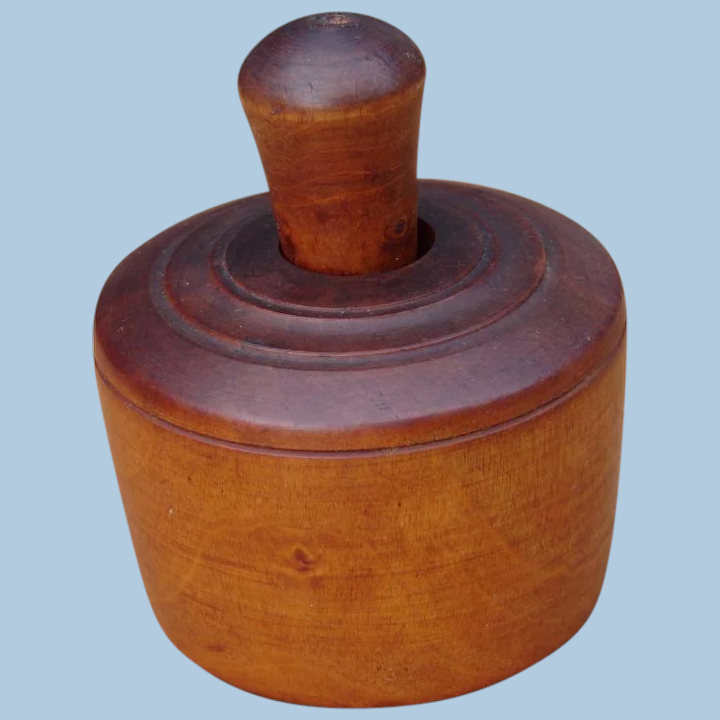 Beautiful wooden butter mould