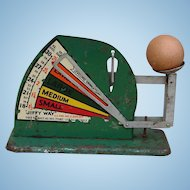Vintage 1940s-1950s Jiffy-Way Egg Weighing Scale in Working Condition