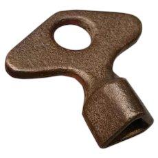 Triangle Type Railroad Brass Signal Box Wrench Key