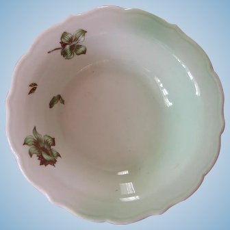 """Vintage Union Pacific Railroad China """"Desert Flower"""" Grapefruit or Cereal Bowl"""