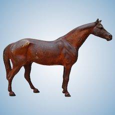 Early Hubley Horse Full Figure Cast Iron Door Stop