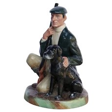 "Retired Royal Doulton Bone China ""The Gamekeeper"" Figurine"