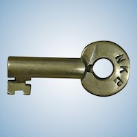 """Nickel Plate"" Railroad Brass Key NYC&StL Railway New York, Chicago & St. Louis"