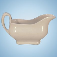 Antique Classic Ironstone Maddock & Co. Large Gravy or Sauce Boat Burslem, England