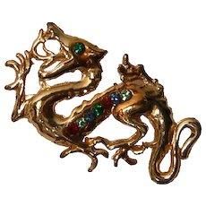 Vintage Dragon Pin