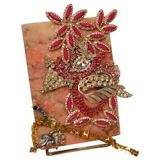 Shabby Chic Bejeweled Alabaster Box
